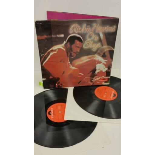 RICHIE HAVENS on stage, 2 x lp, gatefold, 2659 015