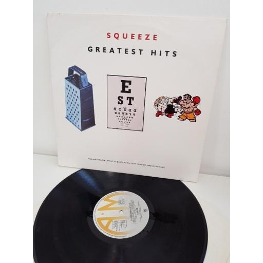 "SQUEEZE, greatest hits, 397 181-1, 12"" LP"