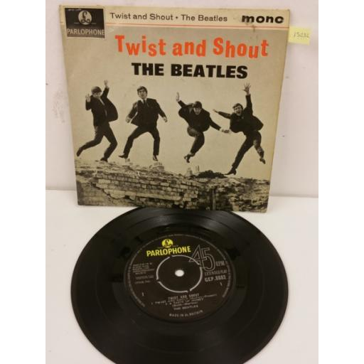 THE BEATLES twist and shout, 7 inch single, GEP 8882