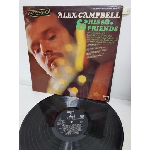 """ALEX CAMPBELL, alex campbell & his friends, ERO 8021, 12"""" LP"""