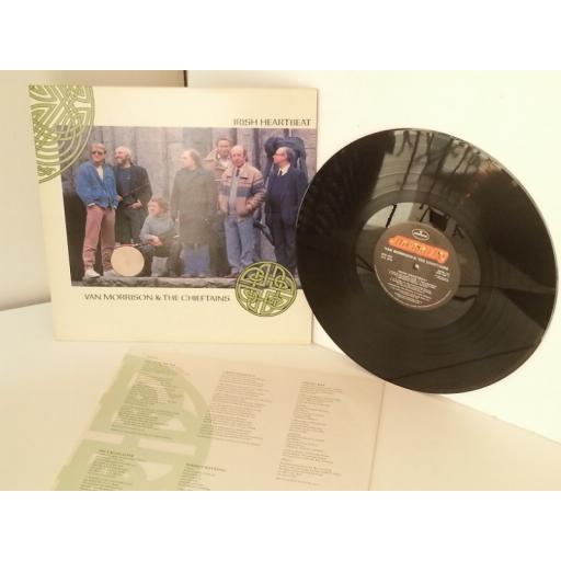 VAN MORRISON & THE CHIEFTANS irish heartbeat, vinyl LP
