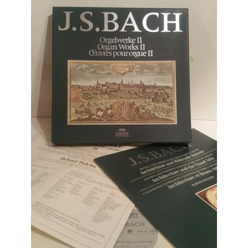 J. S. Bach Organ Works 2 Helmut Walcha - Archiv 2722 016 8 lp Box Set