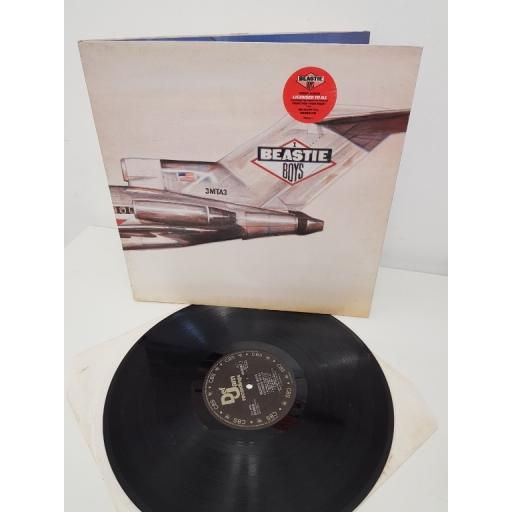 "BEASTIE BOYS, licensed to ill , 450062 1, 12""LP GATEFOLD SLEEVE"
