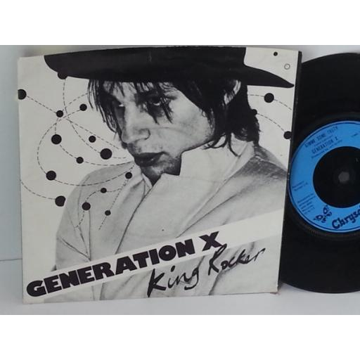 GENERATION X king rocker, 7 inch single, CHS 2261