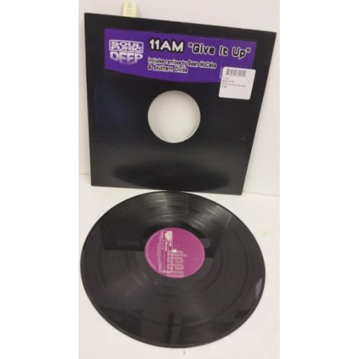 11AM give it up, 12 inch single, SFD 0021