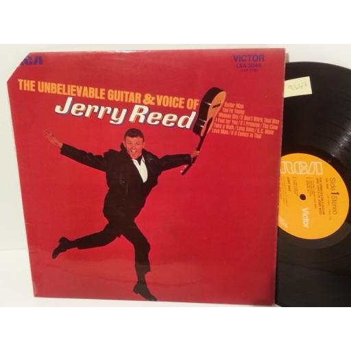 JERRY REED the unbelievable guitar and voice of jerry reed, LSA 3040