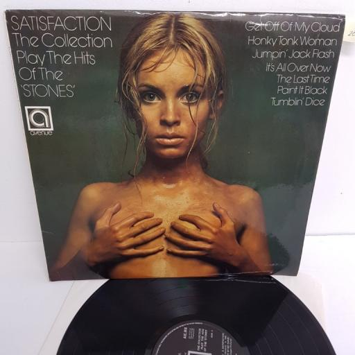 "THE COLLECTION, satisfaction - the collection play the hits of the rolling stones, AVE 0110, 12"" LP"