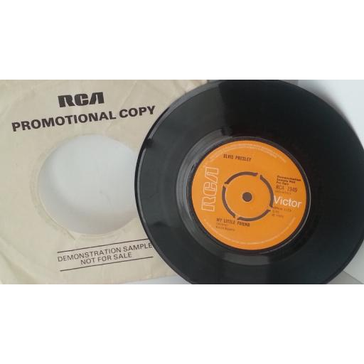 ELVIS PRESLEY kentucky rain, 7 inch DEMO single, RCA 1949