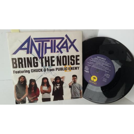 ANTHRAX bring the noise, IS 490, etched single sided