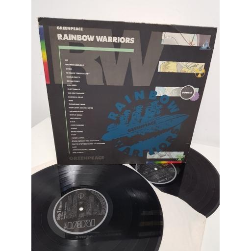 "GREENPEACE, rainbow warriors, PL74065, 12"" LP"