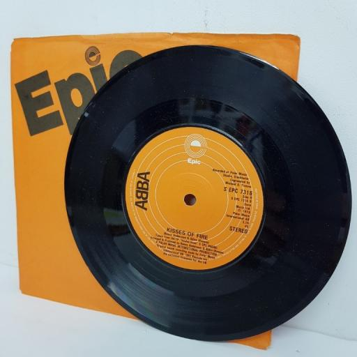 "ABBA, does your mother know, B side kisses of fire, S EPC 7316, 7"" single"