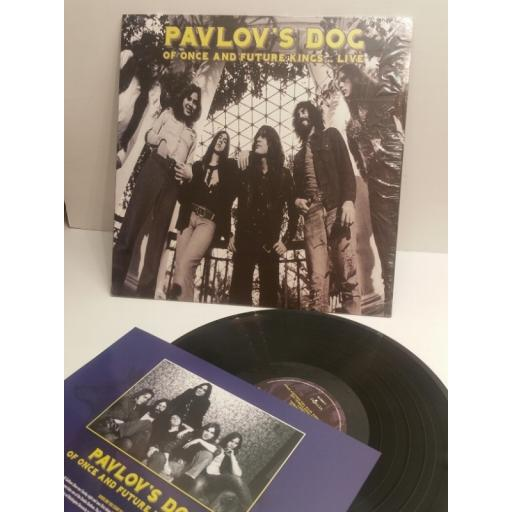 PAVLOV'S DOG of once and future kings..live. Historic radio recording KHLP9059. INCLUDES INTERVIEW INSERT