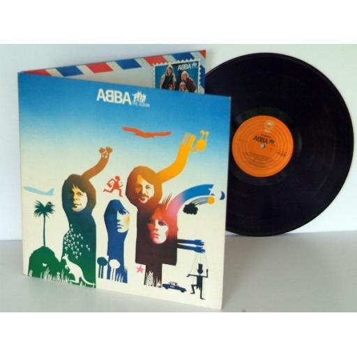 ABBA the album. TOP COPY. UK press 1977. On EPIC records. Abba