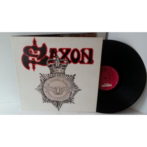 SAXON strong arm of the law, gatefold, CAL 120