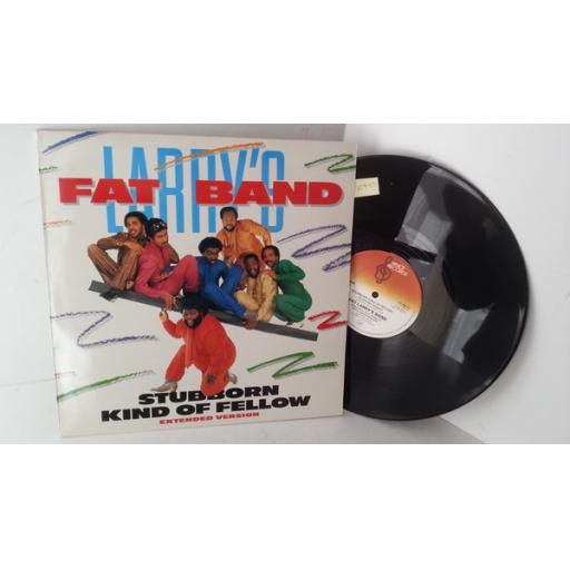 FAT LARRY'S BAND stubborn kind of fellow/ changes, 12 inch single, VS 589-12