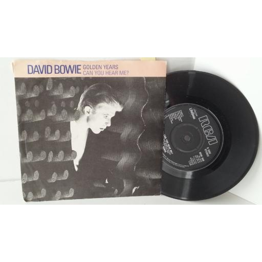 DAVID BOWIE golden years, 7 inch single, BOW 508