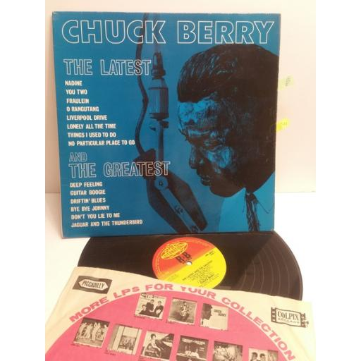 CHUCK BERRY the latest and the greatest NPL28031 MONAURAL