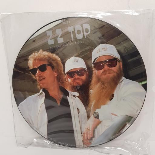ZZ TOP - The Chris Tetley Interviews, side A Untitles, side B Untitled, CT 1005, 12''LP, Picture Vinyl