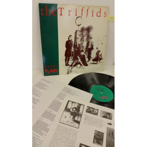 SOLD: THE TRIFFIDS treeless plain, lyric insert, picture insert, HOT 1003