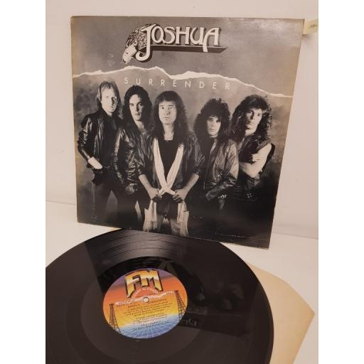 "JOSHUA, surrender, WKFM LP 64, 12"" LP"