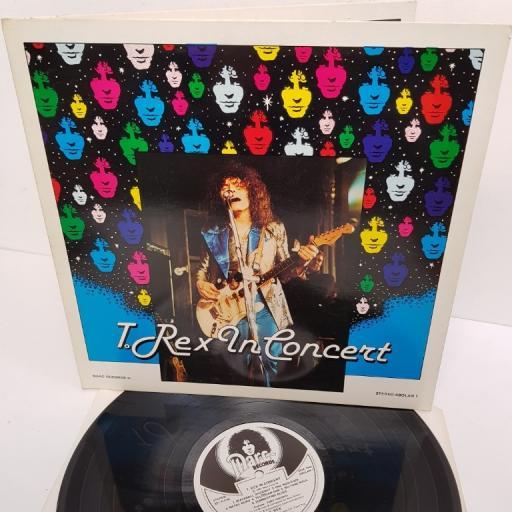 """T. REX, t. rex in concert, ABOLAN 1, 12"""" LP"""