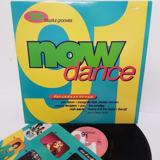 "NOW DANCE 91, NOD 7, 12"" LP, compilation"