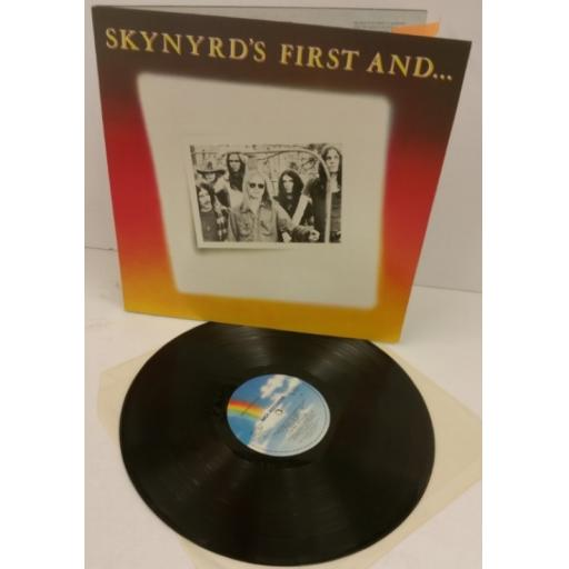 LYNYRD SKYNYRD skynyrd's first and last, gatefold, MCL 1627