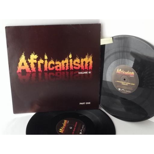 AFRICANISM africanism volume 3, double album, AFRICA03LP