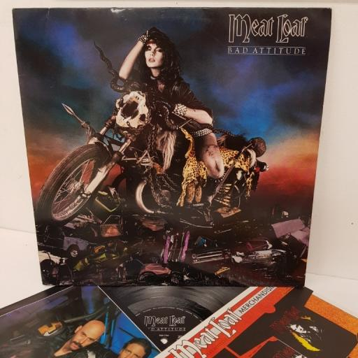MEAT LOAF, bad attitude, 206 619, 12 inch LP