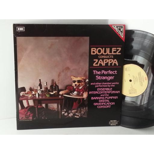 BOULEZ CONDUCTS ZAPPA the perfect stranger, 27 0153 1