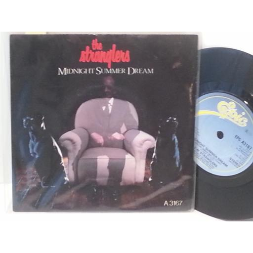 "THE STRANGLERS midnight summer dream, 7"" single, A 3167"