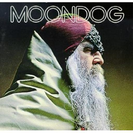 Louis Hardin MOONDOG, second UK pressing