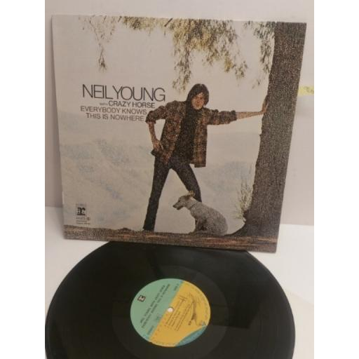 NEIL YOUNG WITH CRAZY HORSE everybody knows this is nowhere 44073