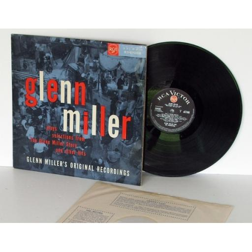 GLENN MILLER selections from the Glenn Miller story Mono. On black label with...