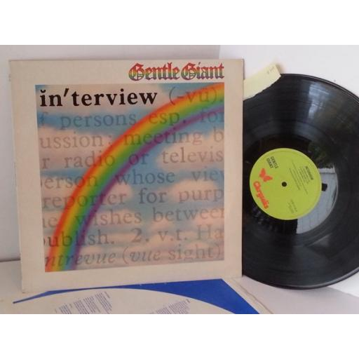 GENTLE GIANT interview, CHR 1115