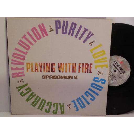 SOLD Spacemen 3 PLAYING WITH FIRE, FIRE LP16
