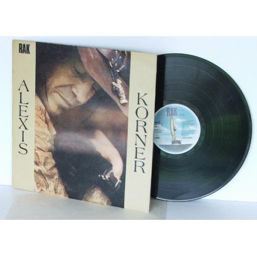 ALEXIS KORNER Alexis Korner Alexis KornerTop copy. First UK pressing. 1971.