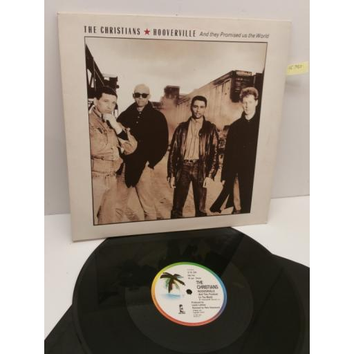 """THE CHRISTIANS hooverville (and they promised us the world) (12"""" EP), 12 IS 326"""
