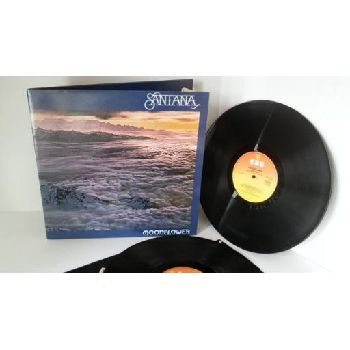 SANTANA moonflower, double album, gatefold, CBS 22180
