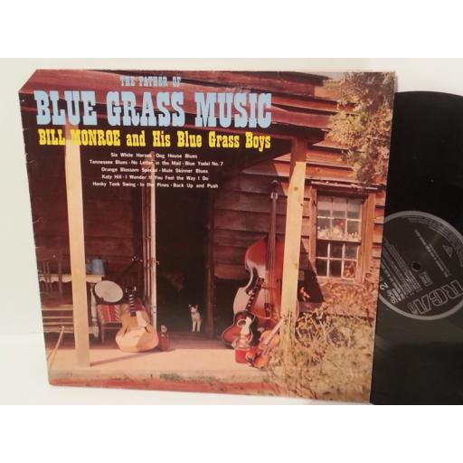 BILL MONROE AND HIS BLUE GRASS BOYS the father of blue grass music, NL 90008