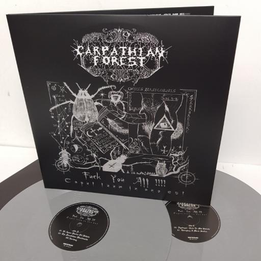 "CARPATHIAN FOREST, fuck you all !!!! - caput tuum in ano est, BOBV402LP, 2x12"" LP, limited edition"