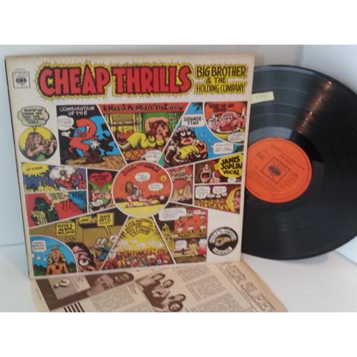 BIG BROTHER AND THE HOLDING COMPANY cheap thrills, 63392.
