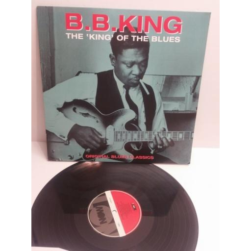 "B.B.KING the ""KING"" of the blues original blues classics CATLP124"