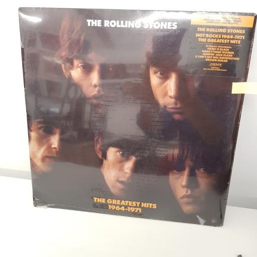 "THE ROLLING STONES, the greatest hits 1964-1971, 12"" LP, 820 140-1"