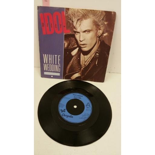 White Wedding Billy Idol.Billy Idol White Wedding 7 Inch Single Idol 5