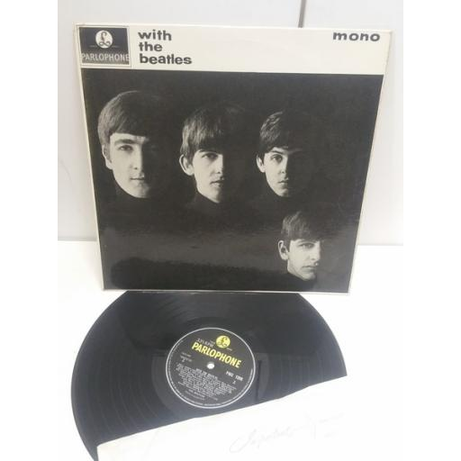 TOP COPY, SECOND PRESSING, YELLOW AND BLACK PARLOPHONE LABEL. MONO 1963. THE BEATLES with the Beatles