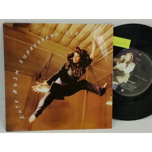 KATE BUSH rubberband girl, PICTURE SLEEVE, 7 inch single, EM 280
