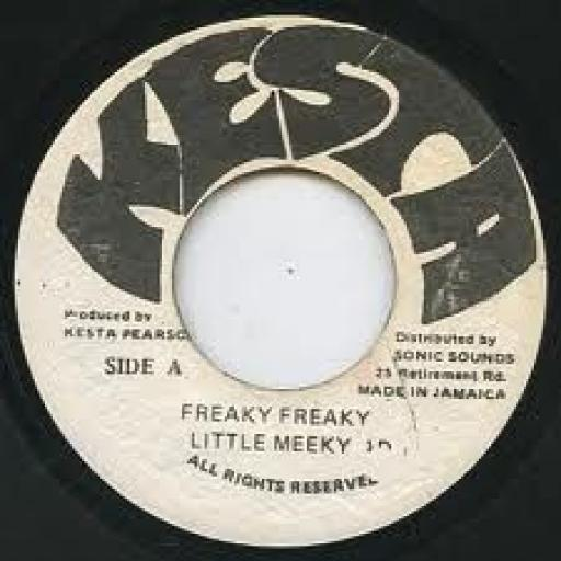 LITTLE MEEKY freaky freaky, 7 inch single, KP 2377