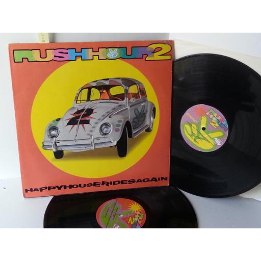 VARIOUS rush hour 2, REACT LP 034, double album