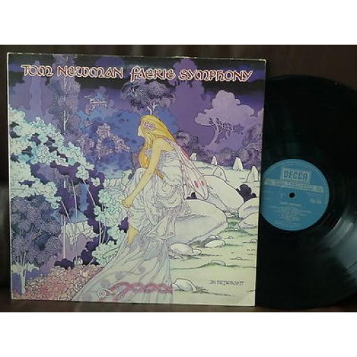 "NEWMAN, TOM, faerie symphony, 12"" GATEFOLD LP, TXS 123"
